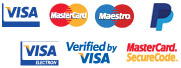 accepted payment cards/types