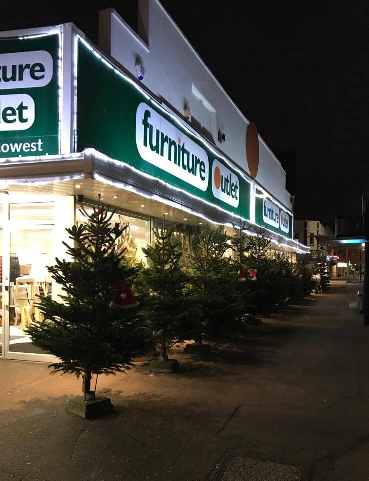 Real Xmas Trees at our Leigh-on-Sea store