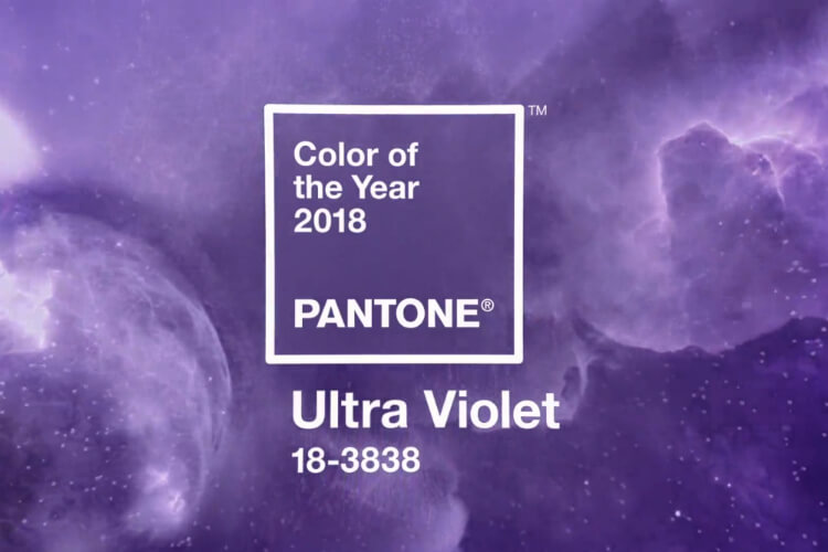 Purple is Pantone Colour of the Year 2018