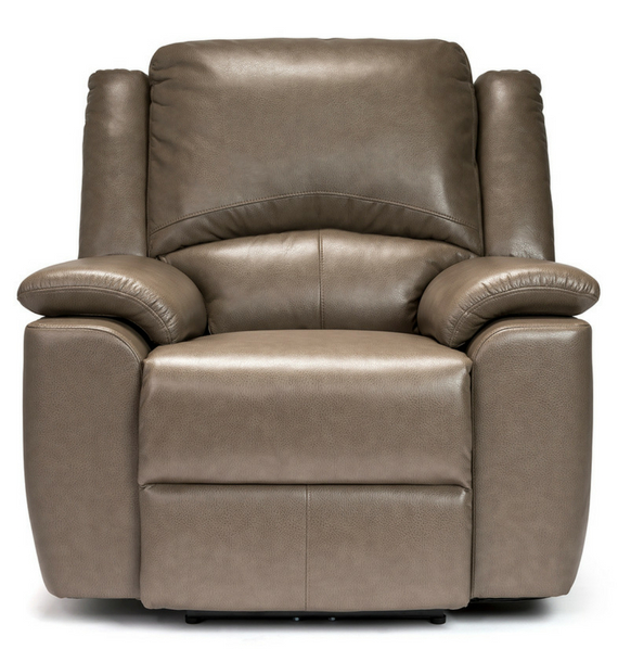Chelsea Stone Reclining Armchair front view