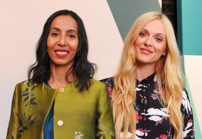 Fearne Cotton (right) is presenting a new interior design TV show