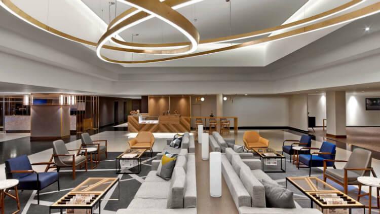 Le Méridien Etoile's HUB Lobby