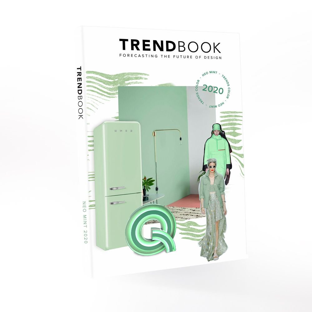 Neo Mint Trend Book Cover