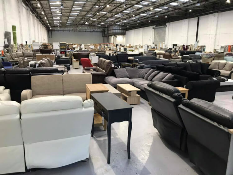 Furniture Outlet Stores - Dagenham inside view