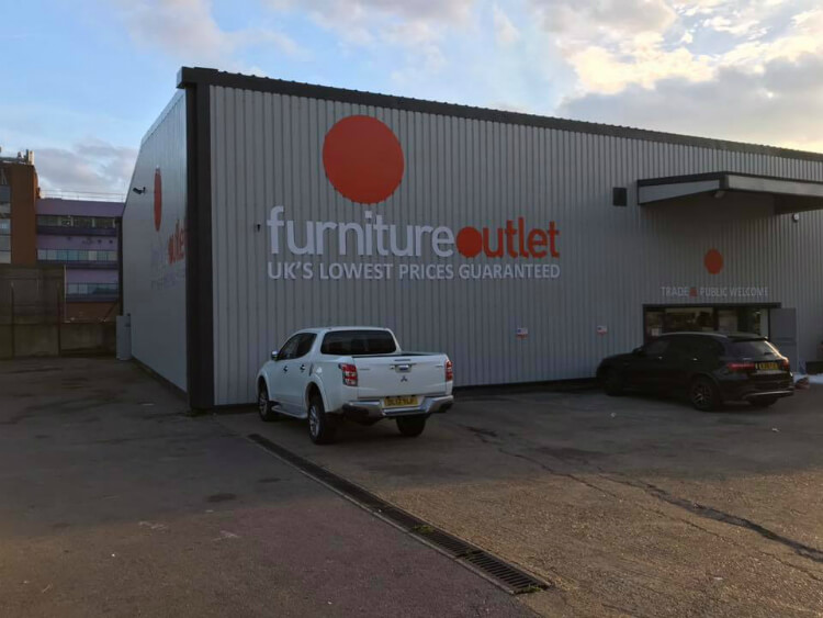 Furniture Outlet Stores - Dagenham outside