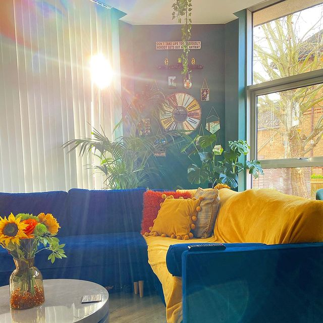 Sunny Living Room bythecatriorhome