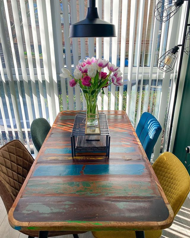 Dining Room Table inspo by thecatriorhome