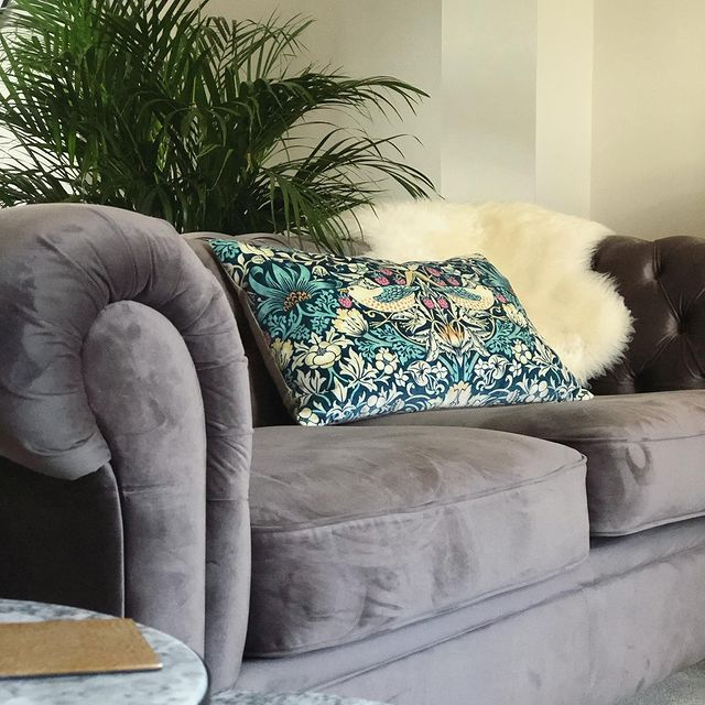 Grey Sofa bought by lovehaterenovate