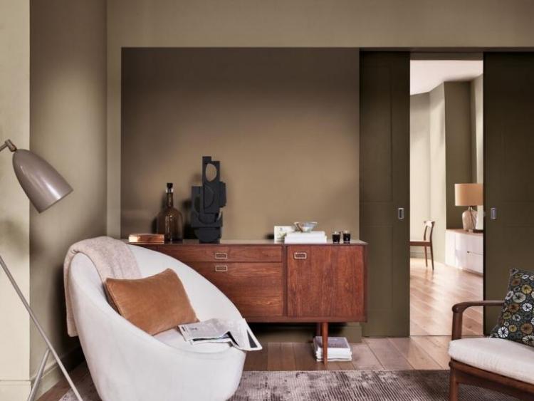 Beige Sitting Room