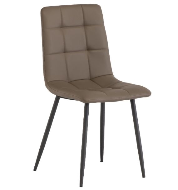 Light Taupe Dining Chair