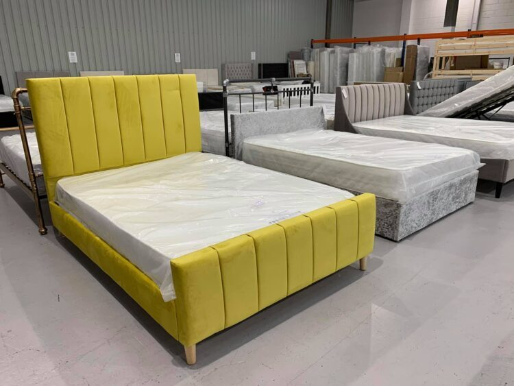 Yellow and Grey beds