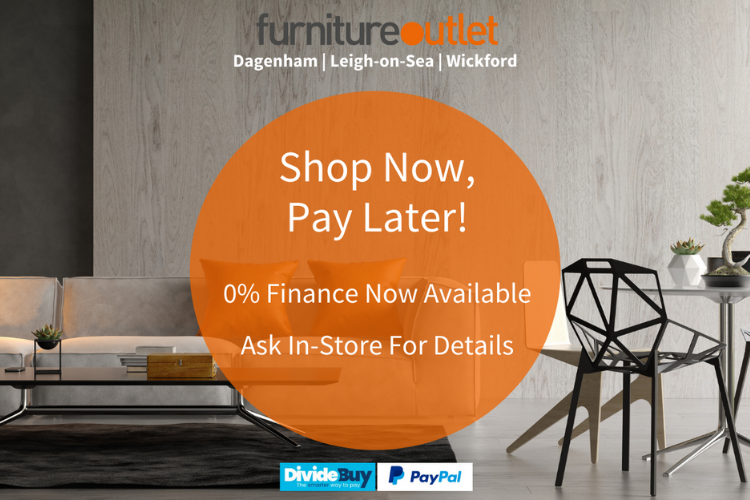 Shop Now, Pay Later 0% Finance Available